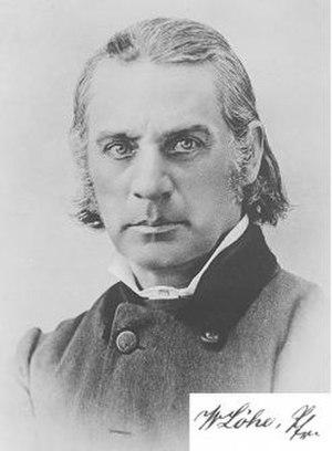 Johann Konrad Wilhelm Löhe - Photograph of Wilhelm Loehe