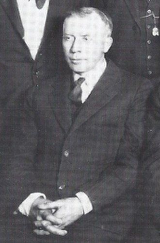 J. L. Wilkinson - Wilkinson at the Negro National League annual meeting in Chicago, Illinois, January 28, 1922