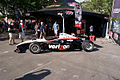 Will Power Show Car LSide IndyCar Nation Fanzone GPSP 27March2011 (14719442673).jpg