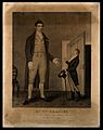 William Bradley, a giant. Engraving by S. Freeman, 1811, aft Wellcome V0007004.jpg