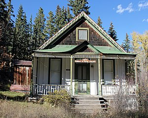 Marble, Colorado - Image: William D. Parry House