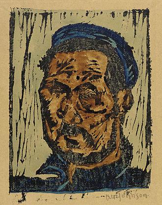 William Johnson (artist) - Self-portrait, c. 1930–1945