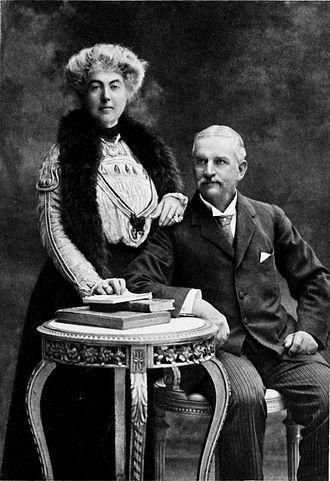 Fanny Bullock Workman - Portrait of Fanny and William