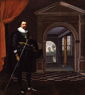 William Herbert, 3rd Earl of Pembroke - William Herbert by Daniel Mytens