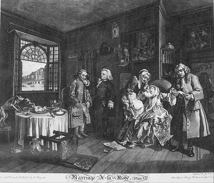 File:William Hogarth - Marriage à la Mode, Plate 6, (The Death of the Countess) - Google Art Project.jpg