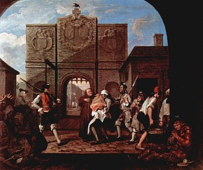 The Gate of Calais (also known as, O the Roast Beef of Old England), 1749