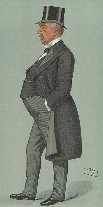 William Jackson, 1st Baron Allerton - Jackson by Leslie Ward, 1899.
