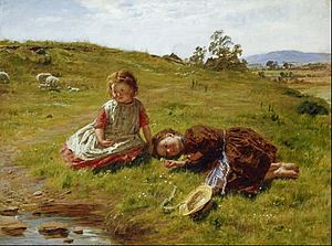 William Mctaggart Spring Google Art Project Scottish In The Nineteenth Century