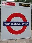 Wimbledon Park stn roundel.JPG