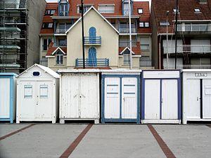 Wimereux - Image: Wimereux Beach Huts