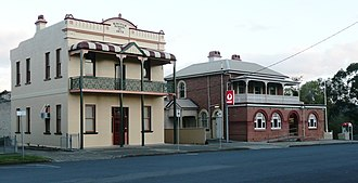 Wingham, New South Wales - Wingham Library and Post Office