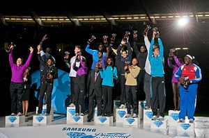 2010 IAAF Diamond League - The winners of the 2010 Diamond League Trophies
