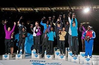 2010 IAAF Diamond League - The winners of the 2010 Diamond League Trophies