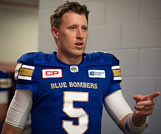 Drew Willy - Willy with the Winnipeg Blue Bombers in 2016