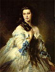 Winterhalter, Franz Xaver - Barbara Dmitrievna Mergassov Rimsky-Korsakova - 1864.jpg