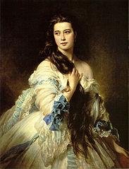 Portrait of  Barbara Dmitrievna Mergassov Rimsky-Korsakova