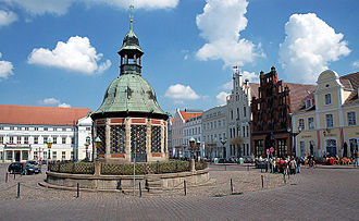 Mecklenburg - Wismar waterworks