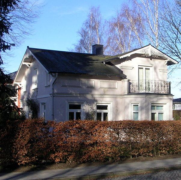 Datei Wohldorfer Damm 5 Wohnhaus Hamburg Bergstedt Jpg