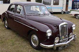 Gerald Palmer (car designer) - Wolseley 4/44