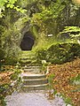 Wonsees, Felsengarten Sanspareil, Bärenloch.jpg