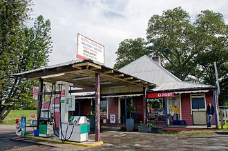 Woodville, New South Wales - The historic timber general store at Woodville.