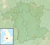 Worcestershire UK relief location map.jpg