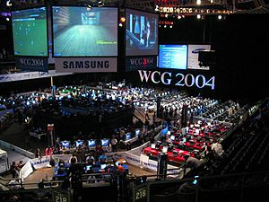 World Cyber Games 2004 - World Cyber Games 2004 were held at the Bill Graham Civic Auditorium in San Francisco