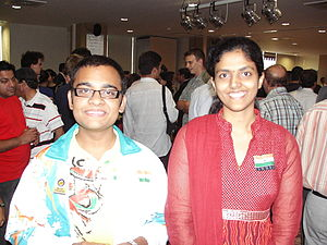 World Junior Chess Championship - Abhijeet Gupta and Dronavalli Harika – Champions in 2008