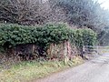 World War II field artillery emplacement, Moor Park Farm, Farnham 03.jpg