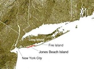 Outer barrier - Jones Beach Island