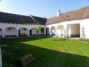 Sulz im Weinviertel - Farm with arcades in Museum.