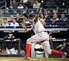 Xander Bogaerts batting in game against Yankees 09-27-16 (12).jpeg