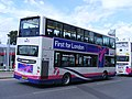 YJ58 RRV 37662 of First West Yorkshire (Leeds) . Olympic games shuttle. (7706114920).jpg