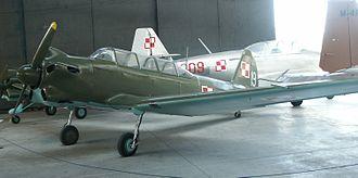 Yakovlev Yak-18 - Polish Air Force Yak-18 in the Polish Aviation Museum