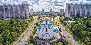 Yasenevo District District in Moscow, Russia