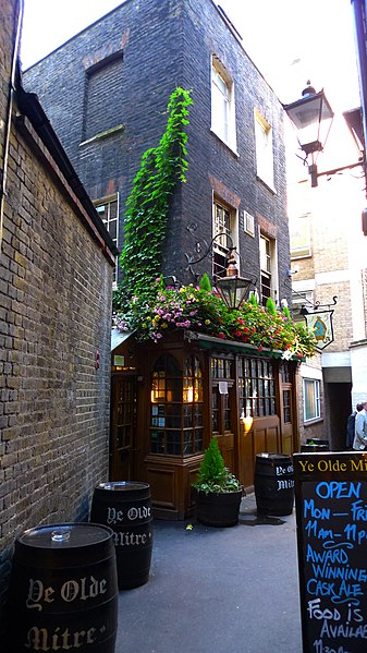 Ye Olde Mitre. From London's 8 Most Unique Pubs