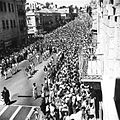 Yehuda Aizenshtark. Ben-Zion Meir Hai Uziel's funeral. 1953.jpg