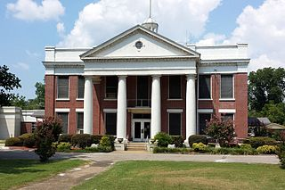 Yell County Courthouse United States historic place