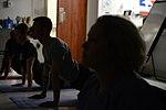 Yoga, A quiet escape for healthcare professionals 140624-F-LX971-029.jpg