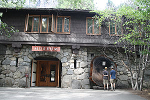 Yosemite Museum - Exterior of the Yosemite Museum in Yosemite Valley, Yosemite National Park.