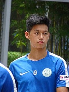 Yuen Chun Sing Hong Kong footballer