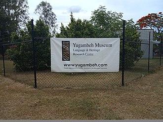 Yugambeh people - Image: Yugambeh Museum Banner