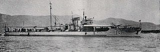 Yugoslav torpedo boat <i>T7</i> Sea-going torpedo boat operated by the Royal Yugoslav Navy