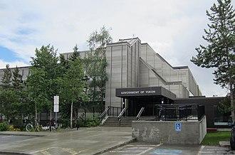Downtown Whitehorse, Yukon - The Yukon Legislative Building is located in Downtown Whitehorse.