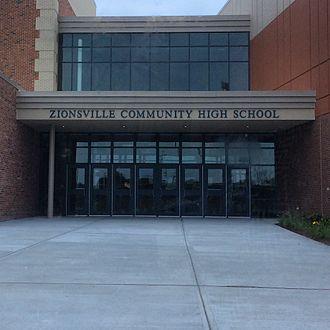 Zionsville, Indiana - Zionsville Community High School