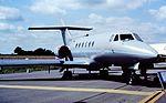 ZE395 HS125 RAF Fairford 22-07-91 (25325357509).jpg