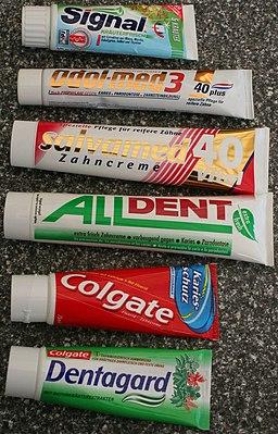 Zahncremes
