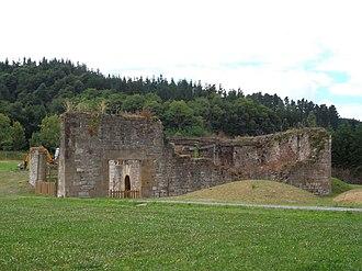 Zaldibar - Ruins of the House- Tower.