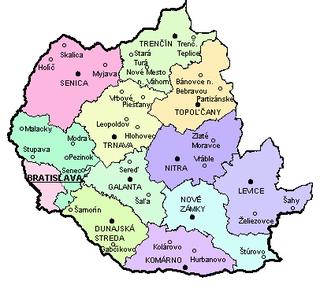 Western Slovakia Region in Slovakia