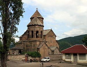 Zarzma monastery - The monastic church of Transfiguration at Zarzma